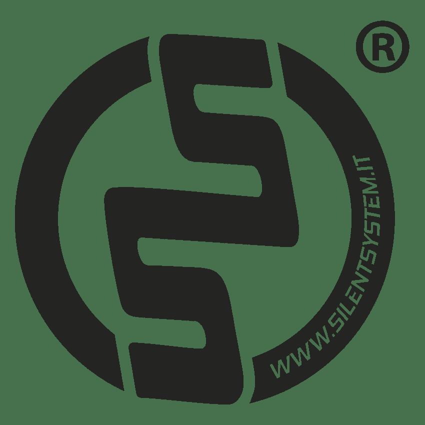 Logo Silentsystem Rotondo Black