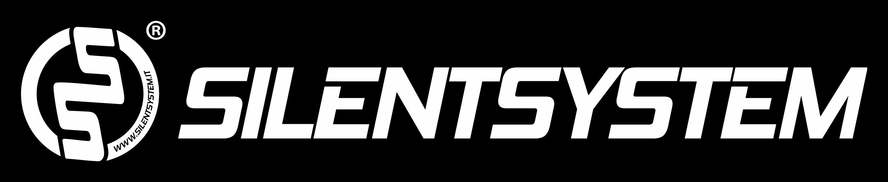 Logo Silentsystem Orizzontale White