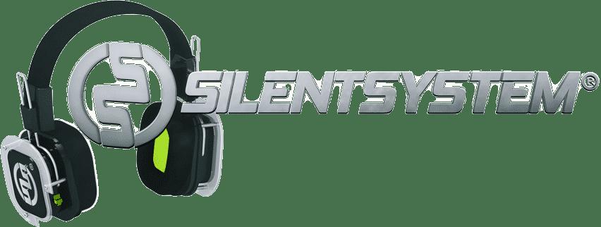 Logo Silentsystem con Cuffie SX809