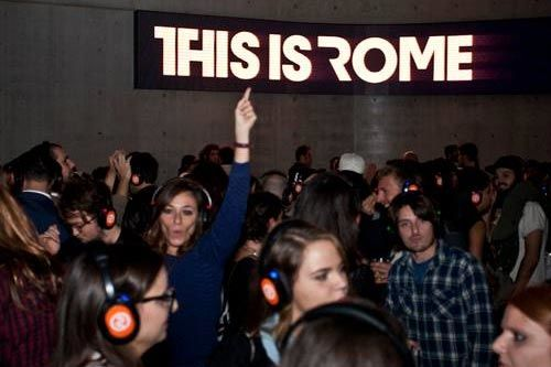 This Is Rome Silent Disco