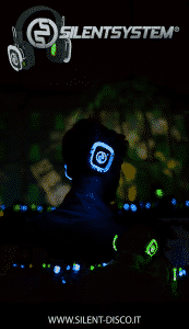 Video Mapping Silent Disco