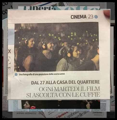 Cinema in Cuffia Torino