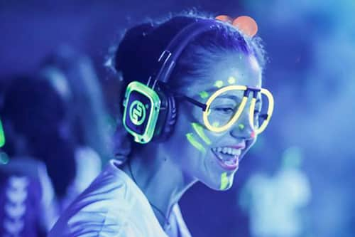 Silent Fluo Party